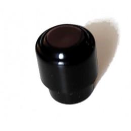 Bouton Rond Barrel Noir...