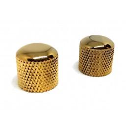 2 Boutons Metal Dore...
