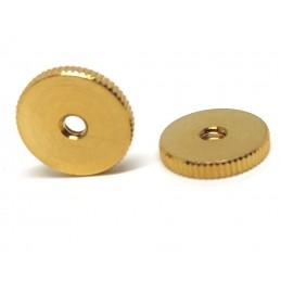 2 Gold thumbwheel for...