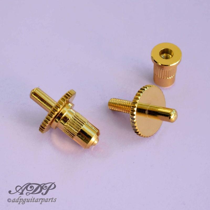 6x pontet Brut//nylon//noncâblé KLUSON® ABR-1 String saddle Raw//Nylon//NonWire