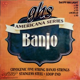 Cordes Ghs 5 Strings Banjo...