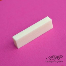 Unslotted Bone Banjo Nut Blank