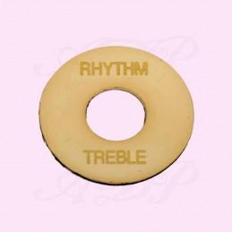 Rythm/Treble Toggle Plate...