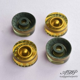 4 Boutons Speed Knobs RELIC...