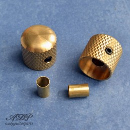 2xBoutons Tele Dome Knobs...