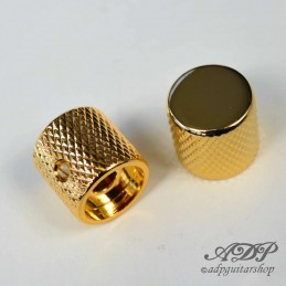 2 Metal FlatTop Gold Knobs...