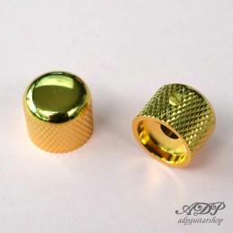 2 Boutons Metal Gotoh dorés...