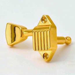 Kluson Waffleback 3+3 gold...