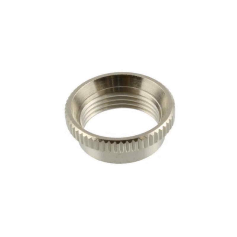 f Switchcraft Allparts Deep Toggle Nut nickel