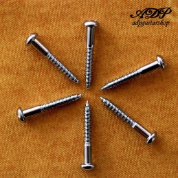 6x Chrome SCREWS 3.5x25mm,...