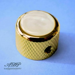 1 Q-Parts Gold Acrylic Dome...