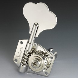 Schaller Nickel Bass tuners...