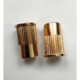 2 Gold Metric Anchors, 12...