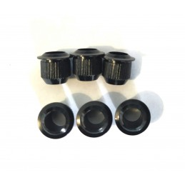 6 Black brass Bushing...