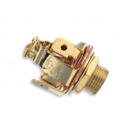 Embase de Jack Pure Tone Stereo Multi-Contact 1/4 in. Gold Input/Ouput Plus de Scratch! PTT2G