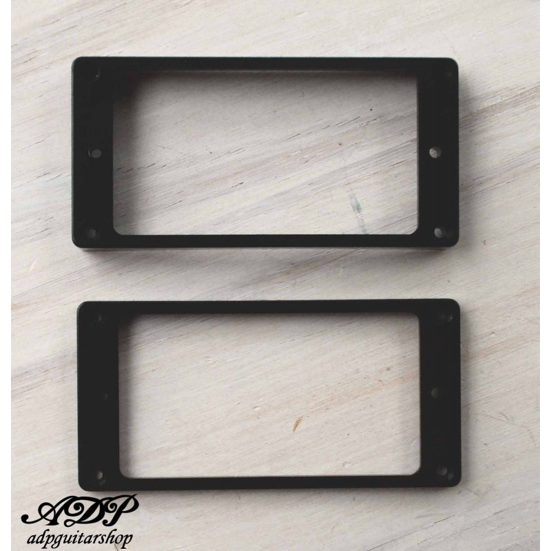 CREAM CURVED HUMBUCKER PICKUP MOUNTING RINGS SET 2 FOR EPIPHONE GUITAR *NEW*