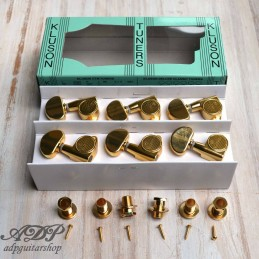 3X3 Gold Kluson machine...