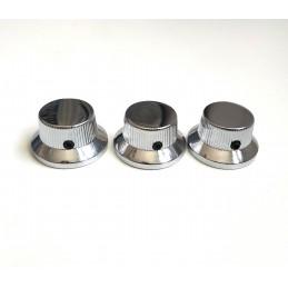 3 Boutons Chapeau Metal...