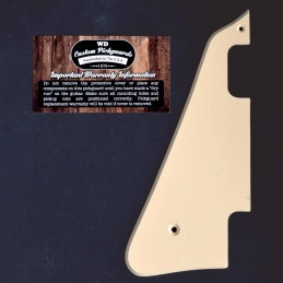 Left Handed Cream Pickguard...