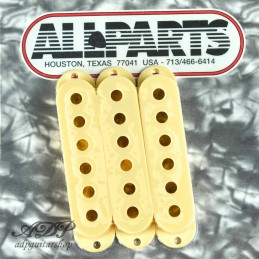 Pickup Cover for Stratocaster (Caches micros crème) Cream or Vintage Cream